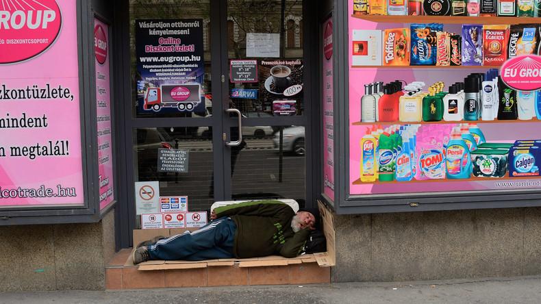 Wohnungsloser muss sich in Ungarn vor Gericht verantworten