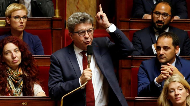Frankreich: Regierung durchsucht Gebäude der Opposition (Video)