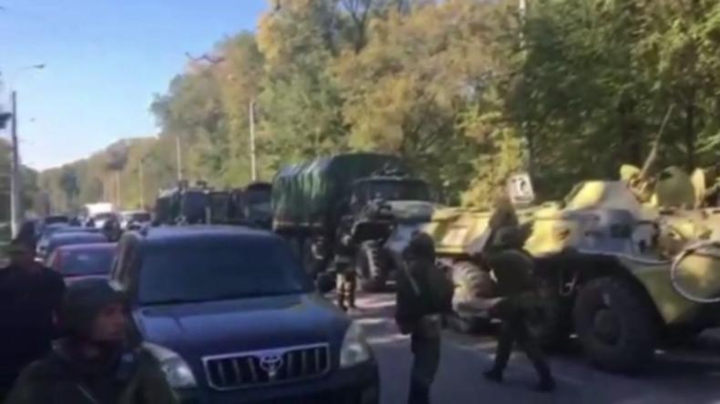Russisches Militär und Soldaten waren bei Amoklauf auf der Krim eingesetzt