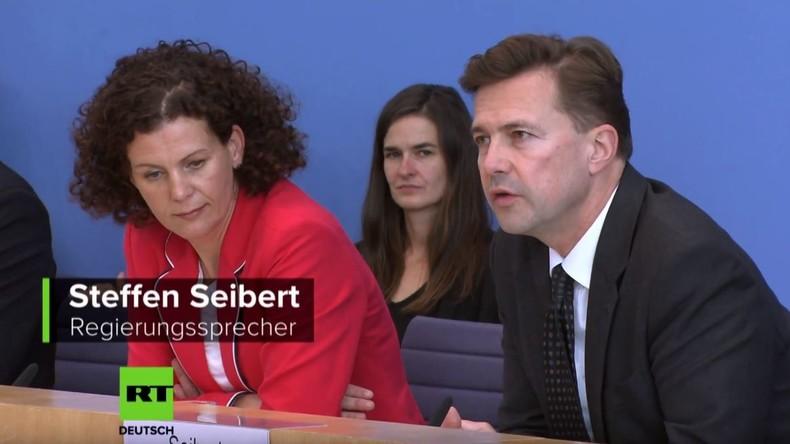 Causa Chaschukdschi: Merkel-Sprecher gegen Aufhebung der Immunität für saudische Diplomaten