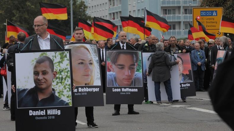 Grünen-Politiker verklagt AfD wegen des Trauermarsches in Chemnitz