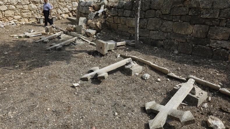 Vandalen verwüsten christlichen Friedhof in Israel – scheinbar aus Hass