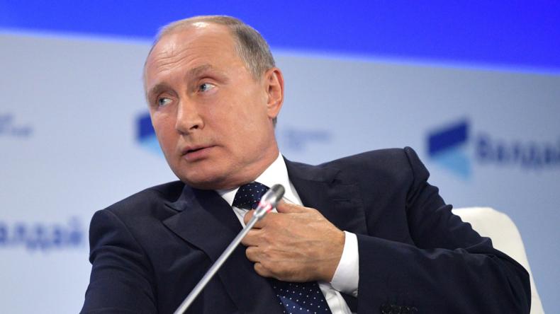 Putin zu Syrien: IS-Terroristen haben im Gebiet der US-Truppen 700 Geiseln genommen