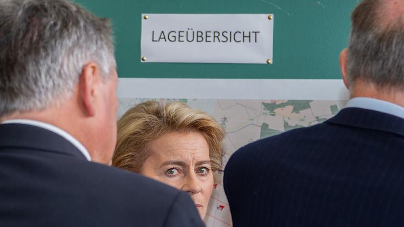 Was die Bundeswehr nicht in den Griff bekommt: Land fordert nach Moorbrand bessere Zusammenarbeit