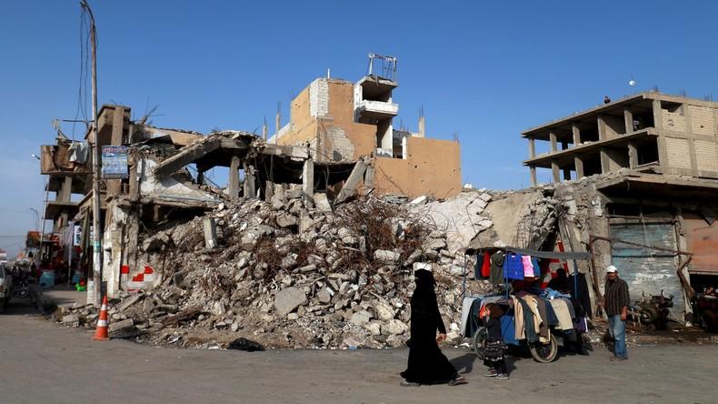 Über 30 tote Zivilisten bei Luftangriffen der US-Koalition in Syrien