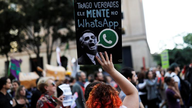 Brasiliens Justiz prüft Vorwürfe gegen Präsidentschaftskandidat Jair Bolsonaro