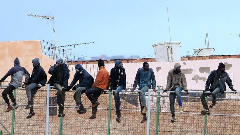 300 Migranten stürmen EU-Grenzzaun in Marokko – Ein Toter, 19 Verletzte
