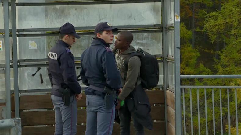 Italiens Innenminister entsendet Polizei an französische Grenze