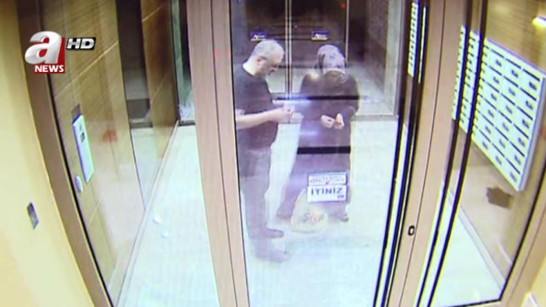 Überwachungskamera-Aufnahmen zeigen letzte Momente von Chaschukdschi mit dessen Verlobter