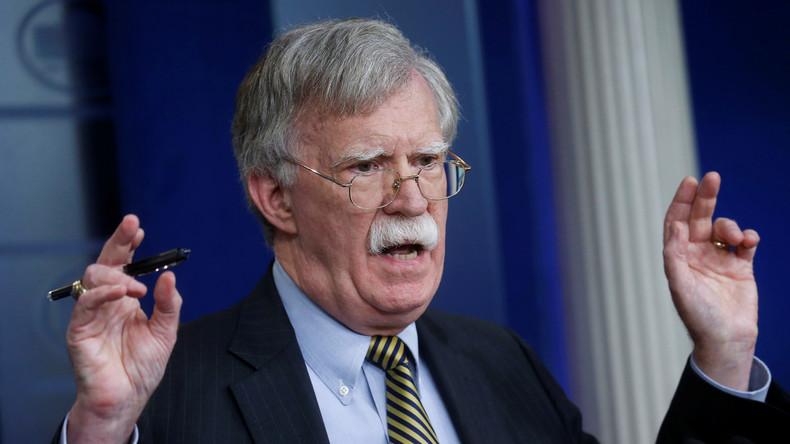 Bolton kommt zum Reden nach Moskau – nachdem er INF-Vertrag erfolgreich torpediert hat