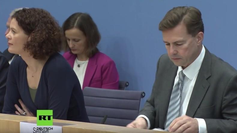 Merkel-Sprecher im Kreuzfeuer: Bundespressekonferenz zum Geständnis über Mord an Saudi-Journalist