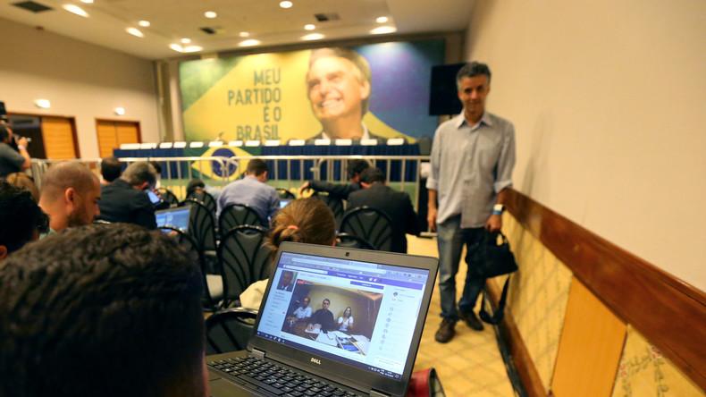 Brasilien: Schmutzkampagne gegen linken Kandidaten - Kritik an Facebook
