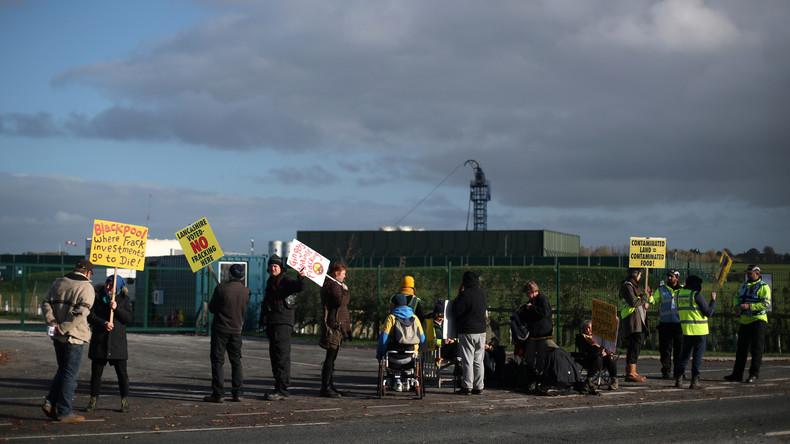 Erdbeben bei Blackpool in Großbritannien nach Wiederaufnahme von Fracking