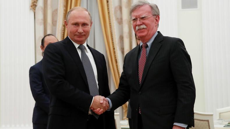 Moskau und Washington planen Gipfel zu INF-Vertrag