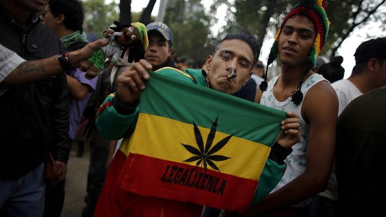 Um Drogengewalt einzudämmen - Mexiko könnte Marihuana legalisieren