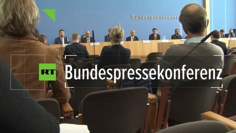 Bundespressekonferenz: Noch immer kein Gespräch und keine Einbestellung des saudischen Botschafters