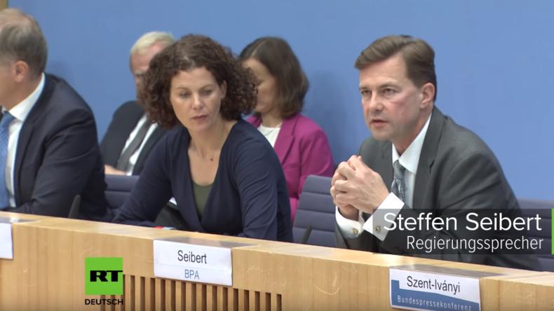 Bundespressekonferenz zum Ausstieg der USA aus INF-Vertrag: Der Russe ist schuld ...
