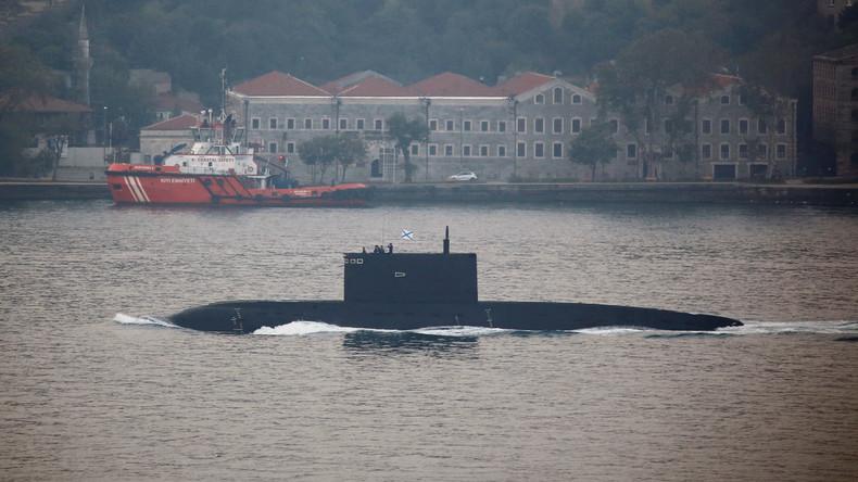 Putin als Kinderschreck: Vermeintliches russisches U-Boot in schwedischen Gewässern