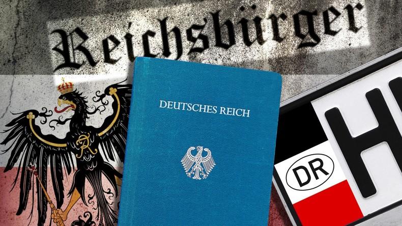 """Behörden erfassen immer mehr """"Reichsbürger"""" und """"Selbstverwalter"""""""