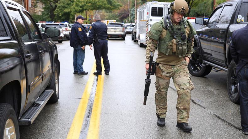 Schießerei in Synagoge in Pittsburgh – mindestens vier Tote