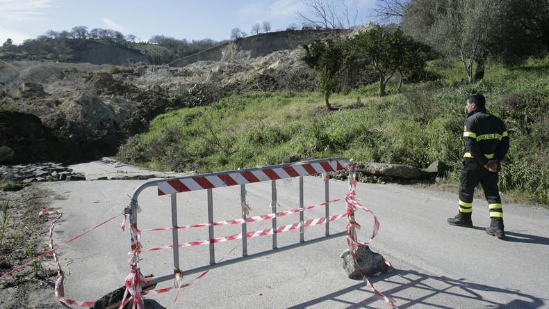 Vier Tote nach Erdrutsch in Italien