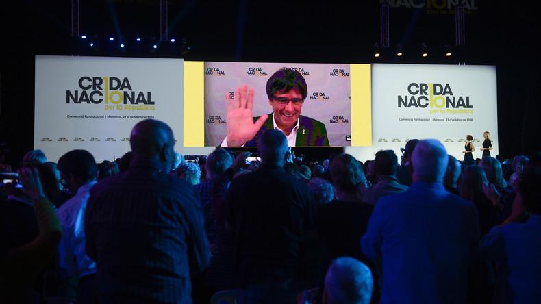 Carles Puigdemont gründet neue katalanische Separatisten-Bewegung