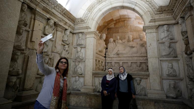 Syriens Nationalmuseum öffnet seine Türen nach sieben Jahren wieder