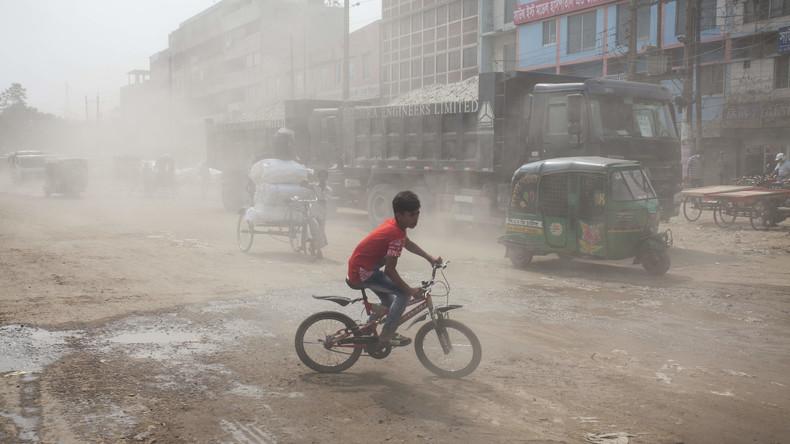 WHO: Mehr als 90 Prozent der Kinder atmen verpestete Luft ein