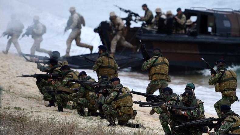 Welt wird zum Pulverfass: NATO startet größtes Kriegsmanöver seit Kaltem Krieg
