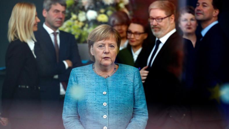 Live Konferenz Merkel