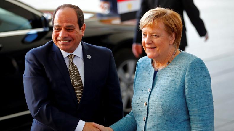 LIVE: Bundeskanzlerin Merkel und der ägyptische Präsident Al-Sisi geben Pressekonferenz in Berlin