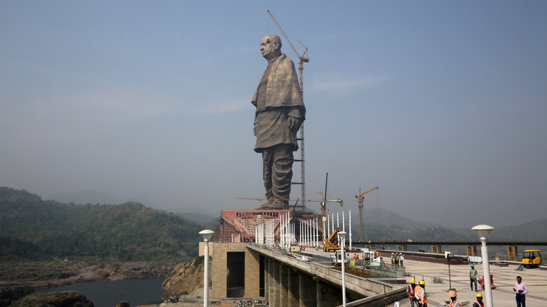 Höchste Statue der Welt in Indien eingeweiht
