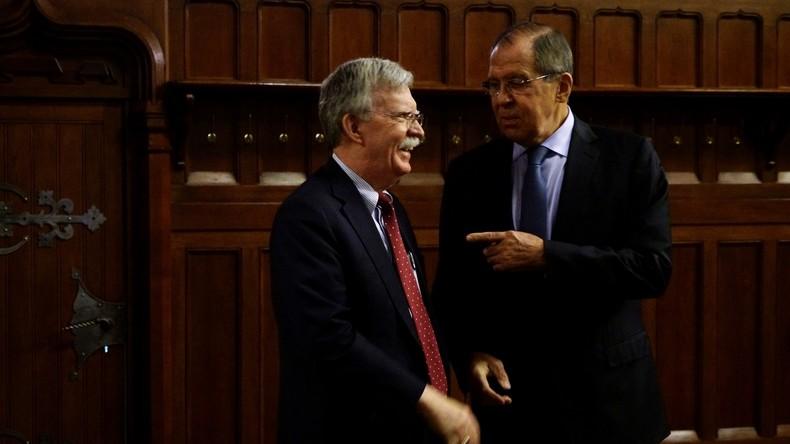Wozu hat John Bolton Moskau besucht? – Interview mit Russlands Außenminister Lawrow (Video)