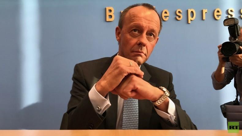 """Friedrich Merz auf der Bundespressekonferenz: """"Ich bin überzeugter Transatlantiker"""""""