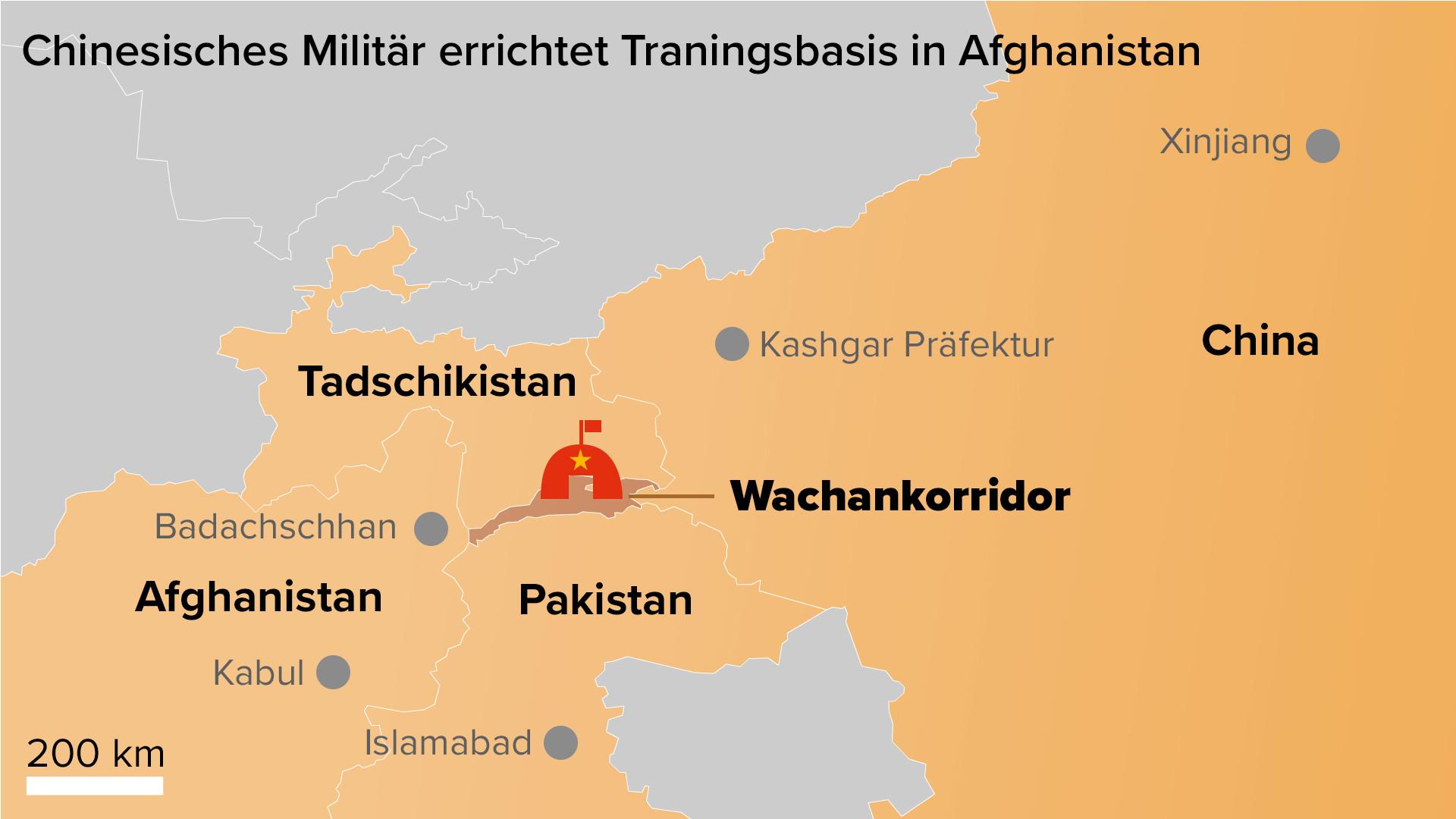 Geopolitischer Wandel: China errichtet erste Militärbasis in Afghanistan