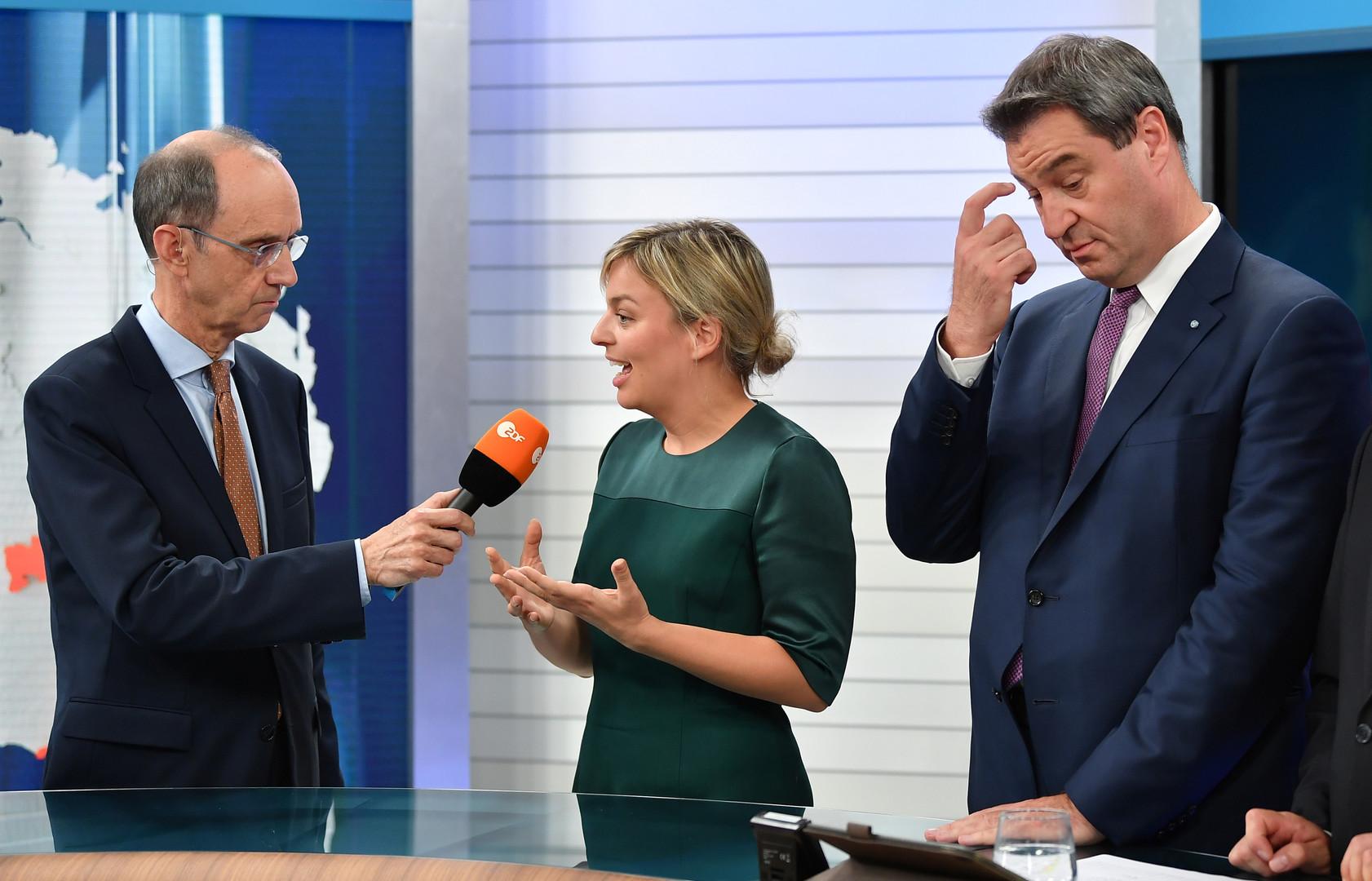 Die bayerische Landtagswahl in Bildern