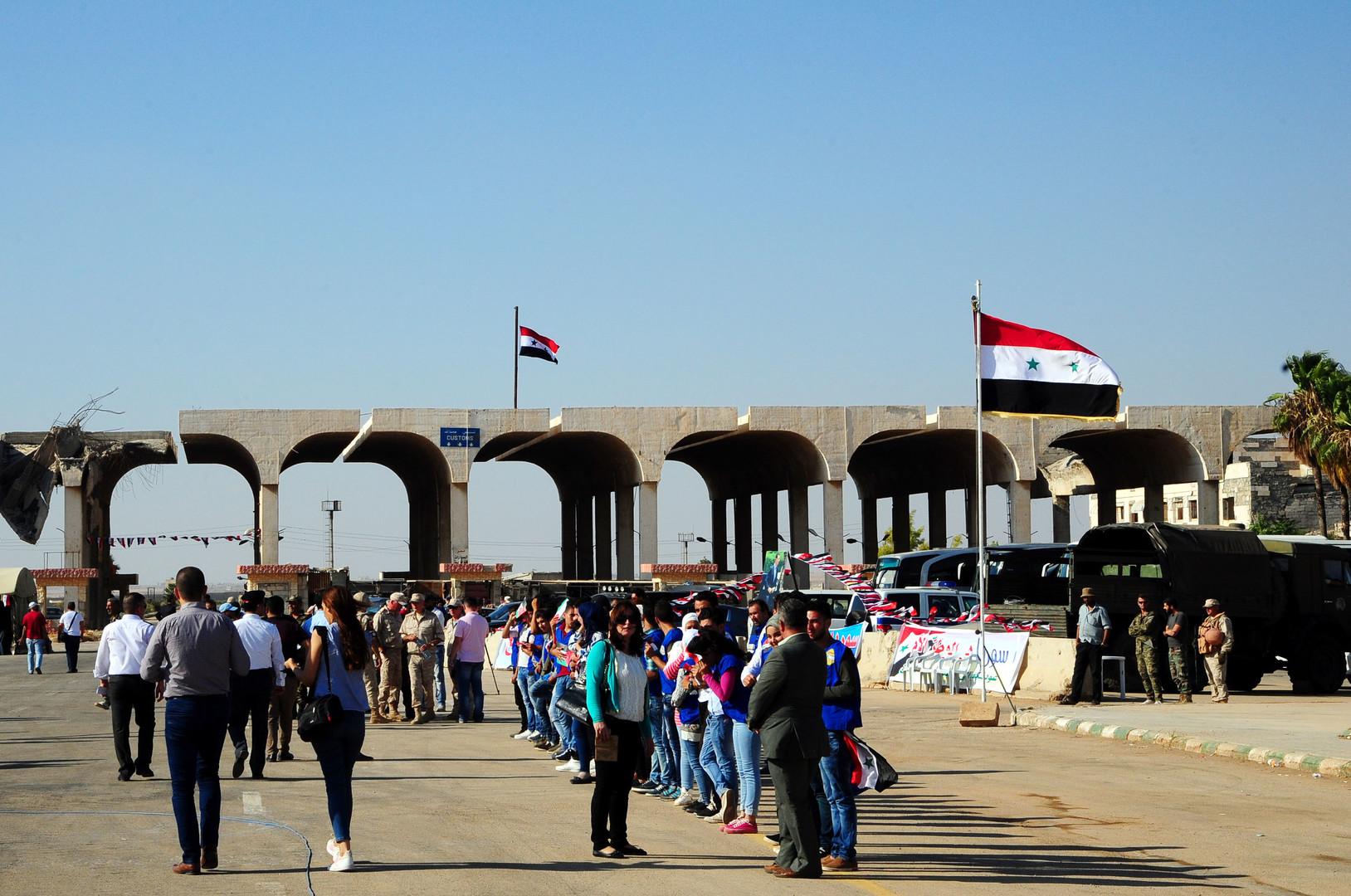 Grenze zwischen Syrien und Jordanien wieder geöffnet