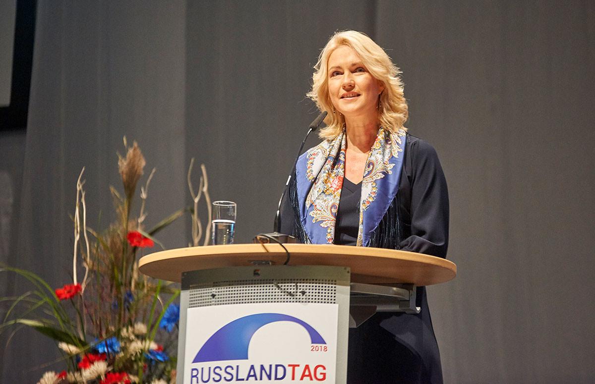 Die Ministerpräsidentin eröffnete den 3. Russlandtag Mecklenburg-Vorpommern