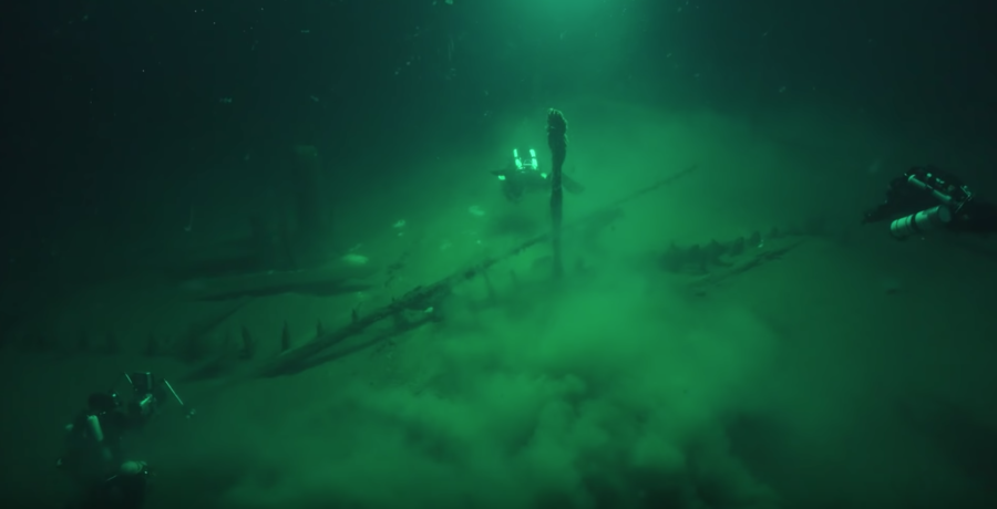 Schiffswrack Schwarzes Meer