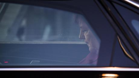 Verschleiernde Rhetorik: Merkel am vergangenen Donnerstag in Berlin