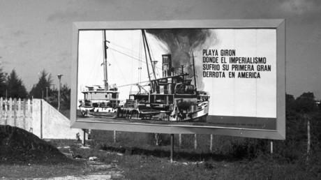 Kubanisches Plakat von 1967 mit der Aufschrift: