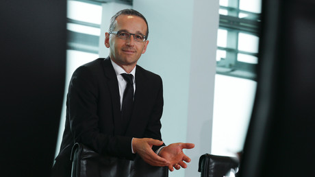 Der damalige Justizminister Heiko Maas bei der Kabinettssitzung am 1. Oktober 2014.