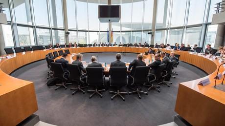 Eine Sitzung des Amri-Untersuchungsausschusses des Bundestages am 19. April 2018 zur Aufklärung des Terroranschlags auf den Weihnachtsmarkt am Berliner Breitscheidplatz im Dezember 2016.