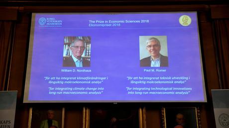 Wirtschafts-Nobelpreis geht an US-Forscher Nordhaus und Romer