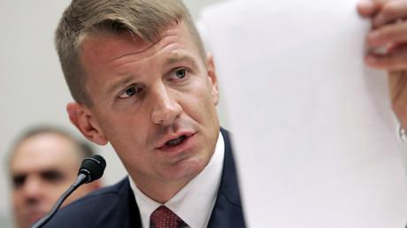 Erik Prince bei einer Anhörung über Einsätze im Irak und in Afghanistan, Washington, USA, 2. Oktober 2007.