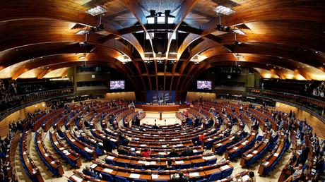 Die Parlamentarische Versammlung des Europarates (PACE) im April 2017