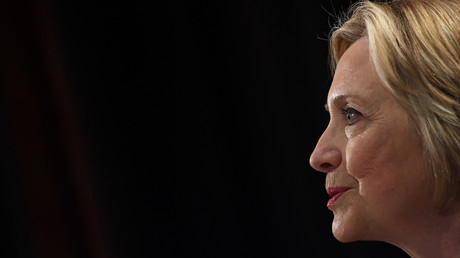 Ehemalige US-Außenministerin Hillary Clinton, bei einer Rede in Dublin, Irland, 22. Juni 2018.
