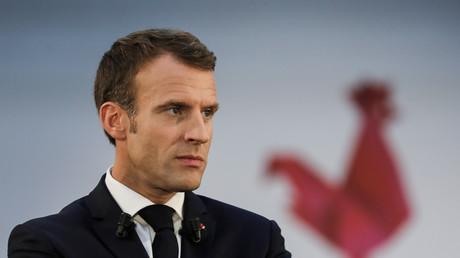 Der französische Präsident Emmanuel Macron, Paris, Frankreich, 9. Oktober 2018.