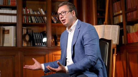 Serbiens Präsident Aleksandar Vučić wirft einigen EU-Staaten Heuchelei in der Kosovo-Frage vor.
