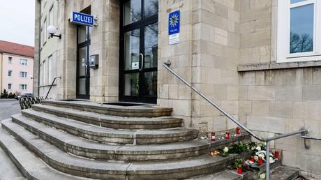 Das Polizeirevier in Dessau: Tatort eines Verbrechens?